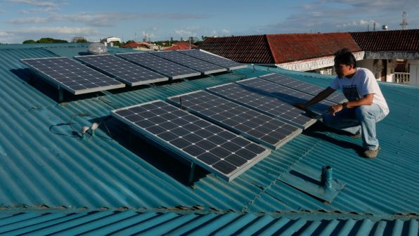 Rooftop solar owners are accused of using the grid as a battery for free.