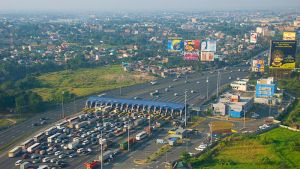 The ADB-supported North Luzon Expressway Rehabilitation and Expansion Project in the Philippines.