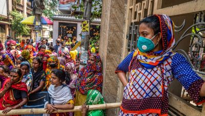 Women and girls face challenges unique to their gender during the pandemic. Photo: ADB