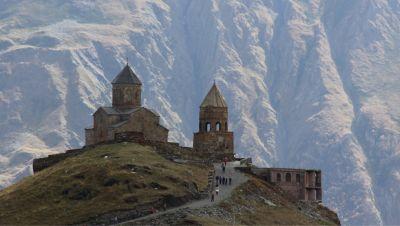 Tourist flows to sites such as the Sameba church have thrown a lifeline to the Georgian economy.
