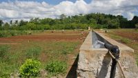 An ADB-supported solar irrigation project in Sumba, Indonesia.