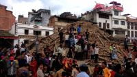 The quake caused widespread property damage in Nepal. All photos by Binita Shah Khadka.